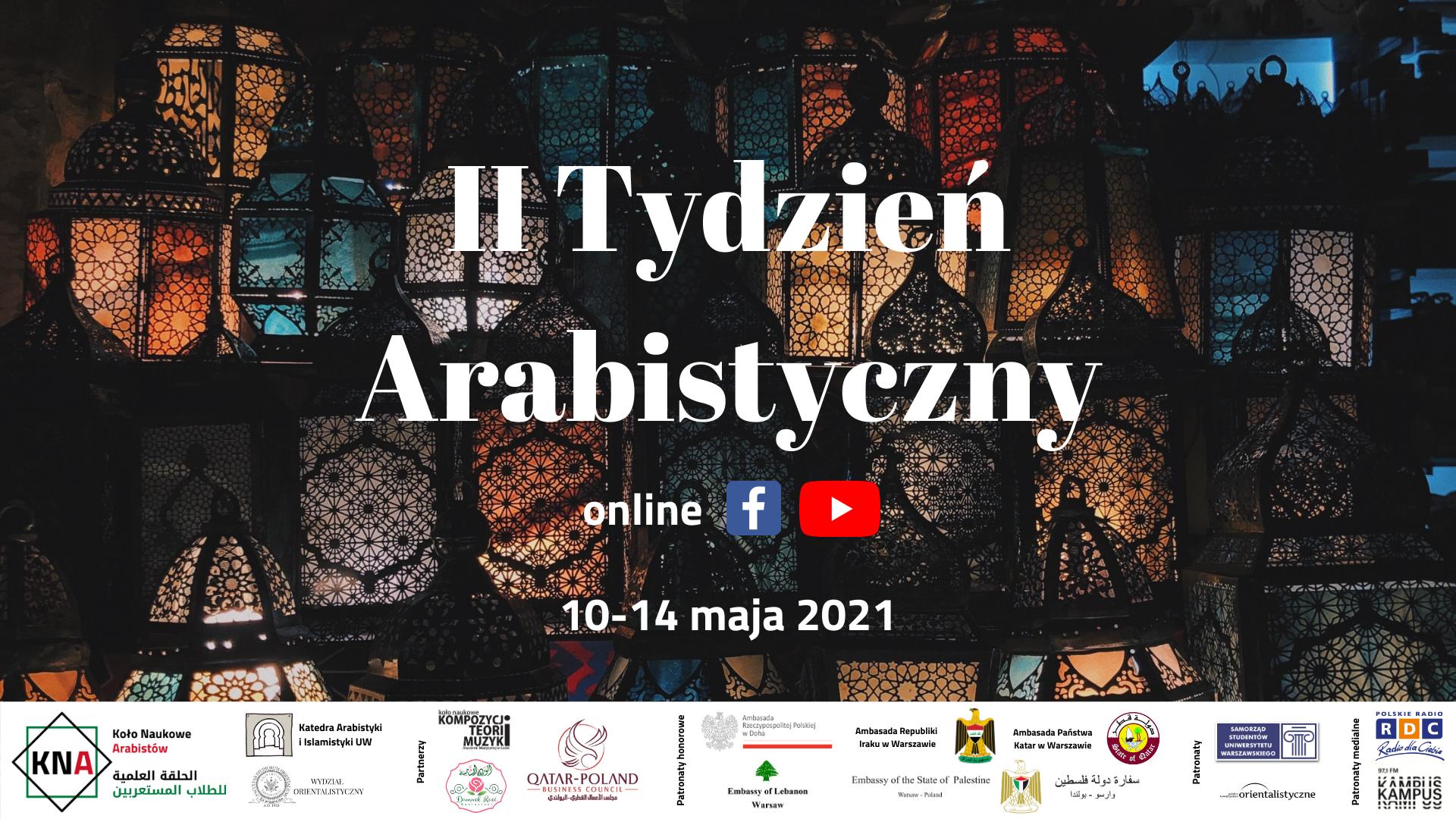 Zaproszenie na II Tydzień Arabistyczny
